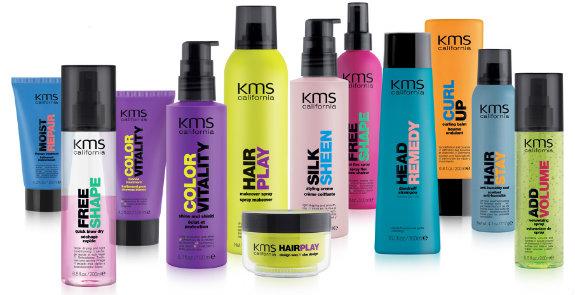 Vi fører Joico hårfarger og de høykvalitets hårpleieprodukter KMS California som er utviklet under profesjonell ledelse i USA.